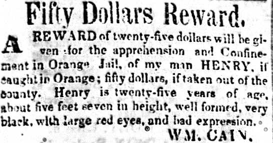 Runaway reward Henry