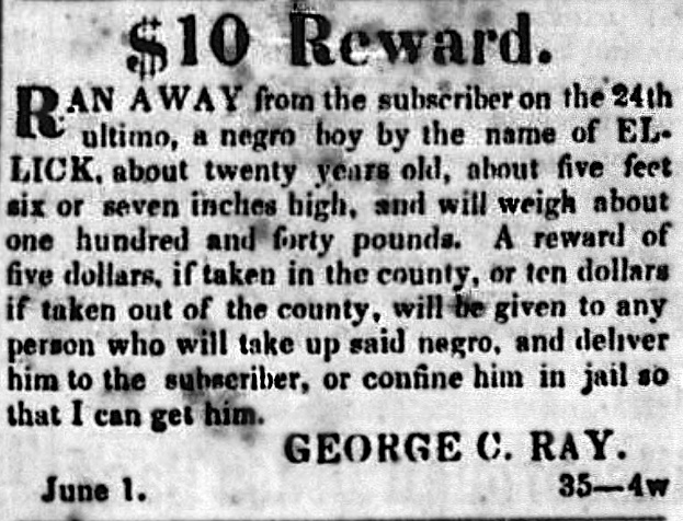 slave runaway reward 2